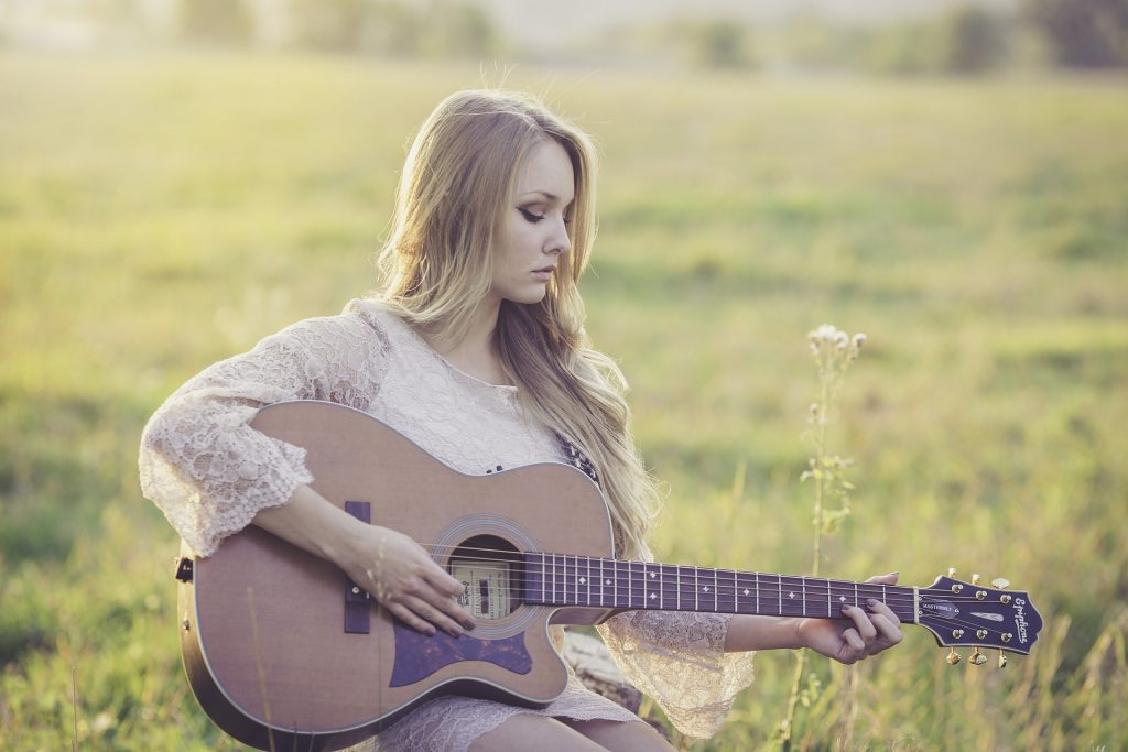 Music is the Key to her Soul