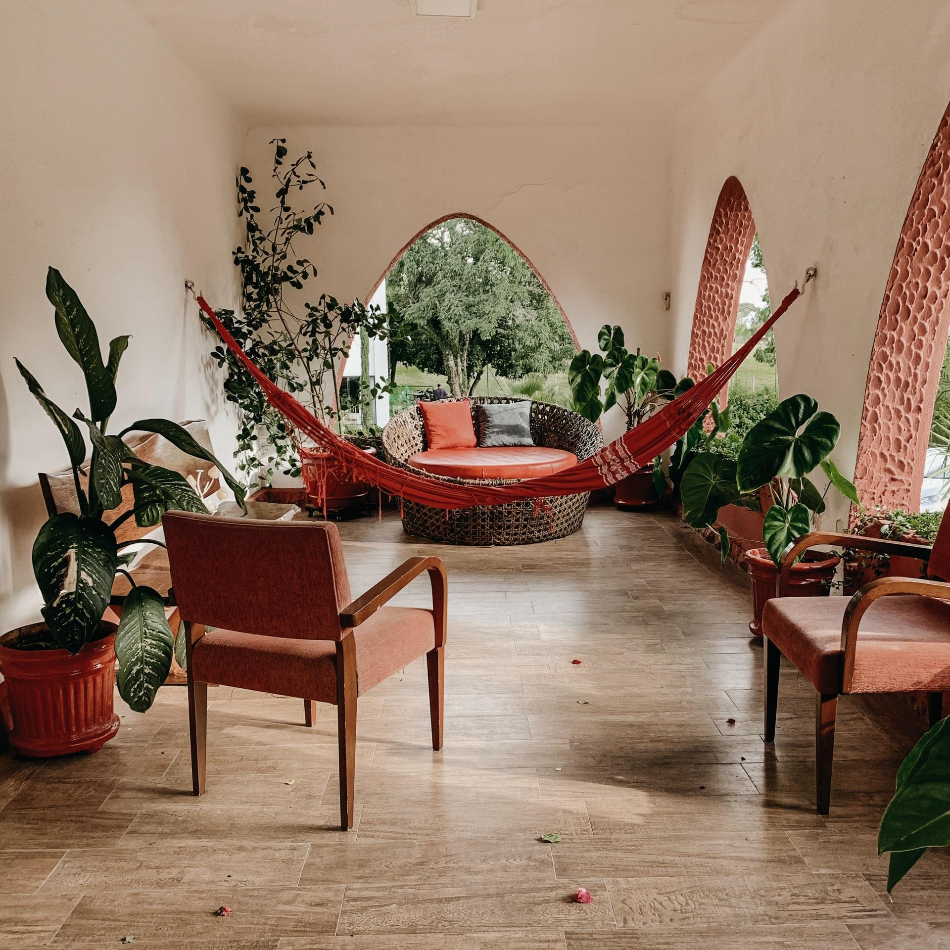 Clean  elegant interior design
