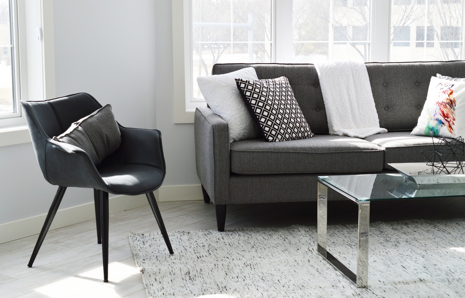 Elegant looking living room