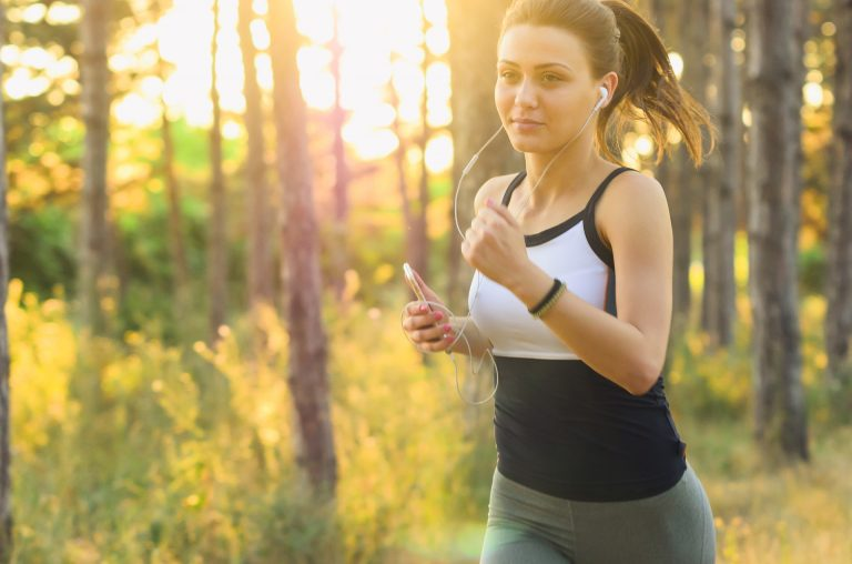 Rest a while and run a mile.