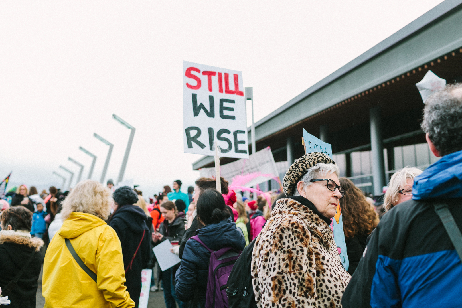 Women protest against violence during COVID-19
